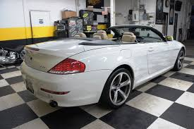 bmw convertible 650i price 2009 used bmw 6 series 650i convertible at auto connection llc