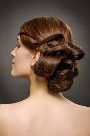 Hochsteckfrisuren Locken Kurze Haare by Edle Steckfrisur Mit Locken Für Kurzes Haar Hochsteckfrisuren