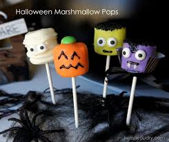 How To Make Halloween Cake Pops Halloween Marshmallow Pops I Wash You Dry