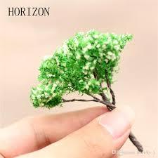 2017 mini tree terrarium figurines garden miniature resin craft
