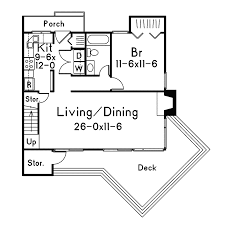 A Frame Floor Plan Chalet Vacation Home Plan 022d 0001 House Plans And More