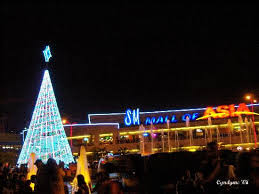 Solar Powered Christmas Tree Lights by Sm Moa As Backdrop To Solar Powered Christmas Tree Picture Of Sm