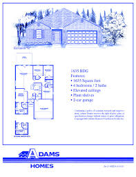 Florida Floor Plans For New Homes Lumber Creek Adams Homes
