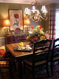 country dining room wall decor interior design