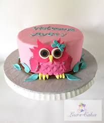 owl baby shower cake girl owl baby shower cake cakecentral