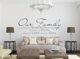 Family Wall Decal Our Family Family Quote Family Wall - Family room wall decals