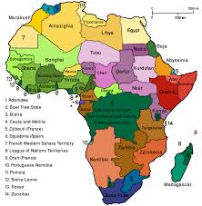 Africa On A Map by Africa World Map Roundtripticket Me