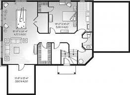 650 square feet house plan one bedroom cabin plans drewry