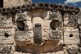 maya archaeological ruins in the yucatan