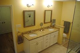Bathroom Vanities Granite Top White Painted Cabinets Granite Vanity Top White Undermount Sinks