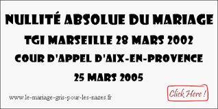 annulation de mariage textes des conditions du mariage des français à l étranger