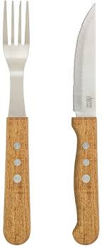 oliver kitchen knives oliver jumbo steak knife fork set set of 8 household