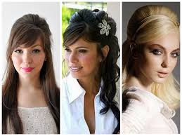 half up hairstyles bridal hairstyles with bangs wedding hairstyles