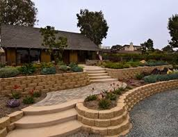 retaining and landscape wall pictures gallery landscaping network