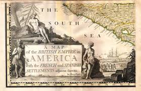 Colonial America Map by Important 1734 Henry Popple Maps Of Colonial North America To Sell
