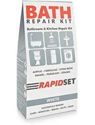 Enamel Bathtub Repair Amazon Com Devcon Epoxy Bathtub Repair Kit Almond U0026 White Home