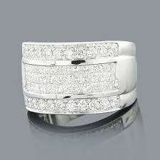 wide wedding bands wide wedding bands princess cut diamond ring 2 75ct 14k