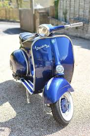 314 best vespas in blue blau images on pinterest vintage vespa