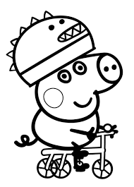 peppa pig printable coloring pages redcabworcester redcabworcester