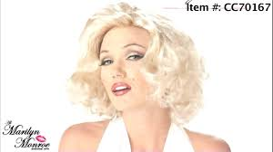 halloween costume wigs marilyn monroe halloween costume wigs youtube