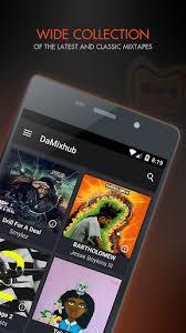 my mixtapes apk damixhub mixtape downloader apk version 1 4 1 7 apk plus