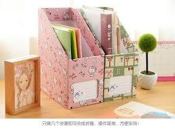 Desk Organizer Box Lot Creative Diy Desktop Magazine File Holder Paper Desk Organizer