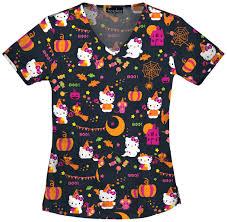 hello kitty halloween scrubs by cherokee tooniforms hello kitty hall