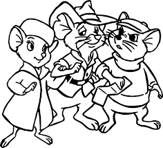 the rescuers mouse coloring pages wecoloringpage