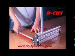 d cut s vinyl tile cutter