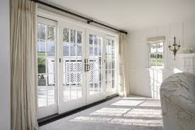 large white wooden window treatments for french doors jpg