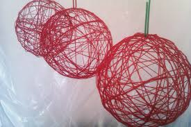 How To Make Wedding Decorations Creating Diy String Ball Ideas Quecasita