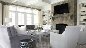 Gray And White Accent Chair Gray Velvet Chairs With Metal Lattice Accent Table Transitional