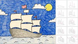 art projects for kids drawing with step by step instructions