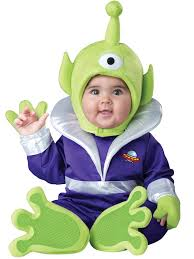 Baby Monster Halloween Costumes by Amazon Com Incharacter Costumes Baby U0027s Mini Martian Costume Clothing