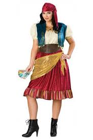 Halloween Express Size Costumes Size Gypsy Costume Costumes Figured