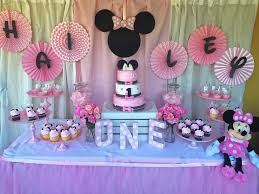 Minnie mouse 1 st birthday decorations party supplies wonderful