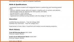 Resume For Cna Job by Download Sample Resume For Cna Haadyaooverbayresort Com
