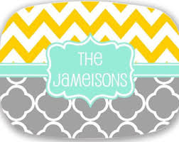 personalized serving plates personalized platter etsy