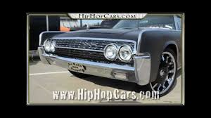 1961 lincoln continental custom youtube