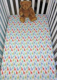 giraffe baby crib bedding fitted crib sheets panda hug