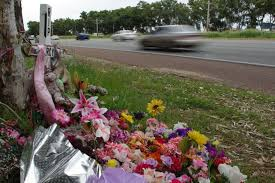 roadside crosses roadside crosses a stark reminder abc news australian
