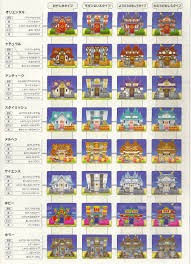 Animal Crossing Home Design Games House Exterior Possibilities Animal Crossing New Leaf