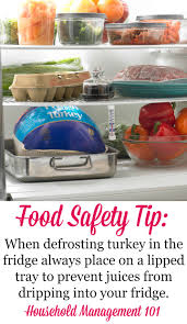 how to defrost turkey make sure you start soon enough for
