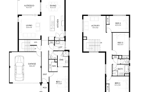 two house plan modern house plans most 53 fabulous gorgeous plan features 4 bedroom