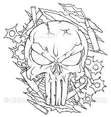 punisher skull tattoo by metacharis on deviantart