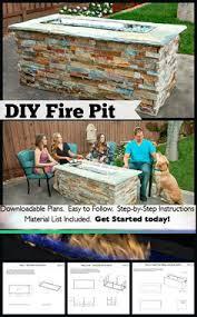 Fire Pit Building Plans - built in fire pit plans fire pits pinterest fire pits 2