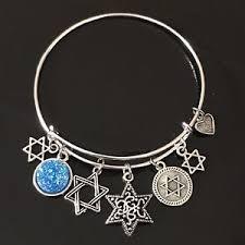 ebay jewelry silver charm bracelet images Star of david bracelet ebay JPG