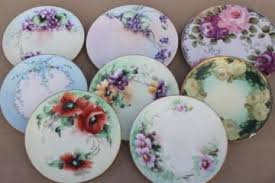 antique china plates dishes