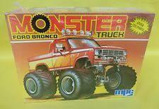 ford bronco mpc monster truck 1 25 model kit vintage ertl 6345