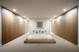 queen futon mattress in bedroom scandinavian with built in